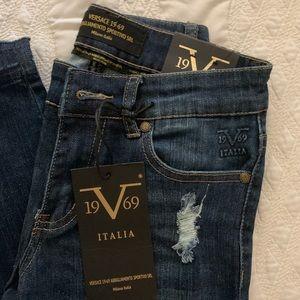 Versace Bella Skinny Jeans